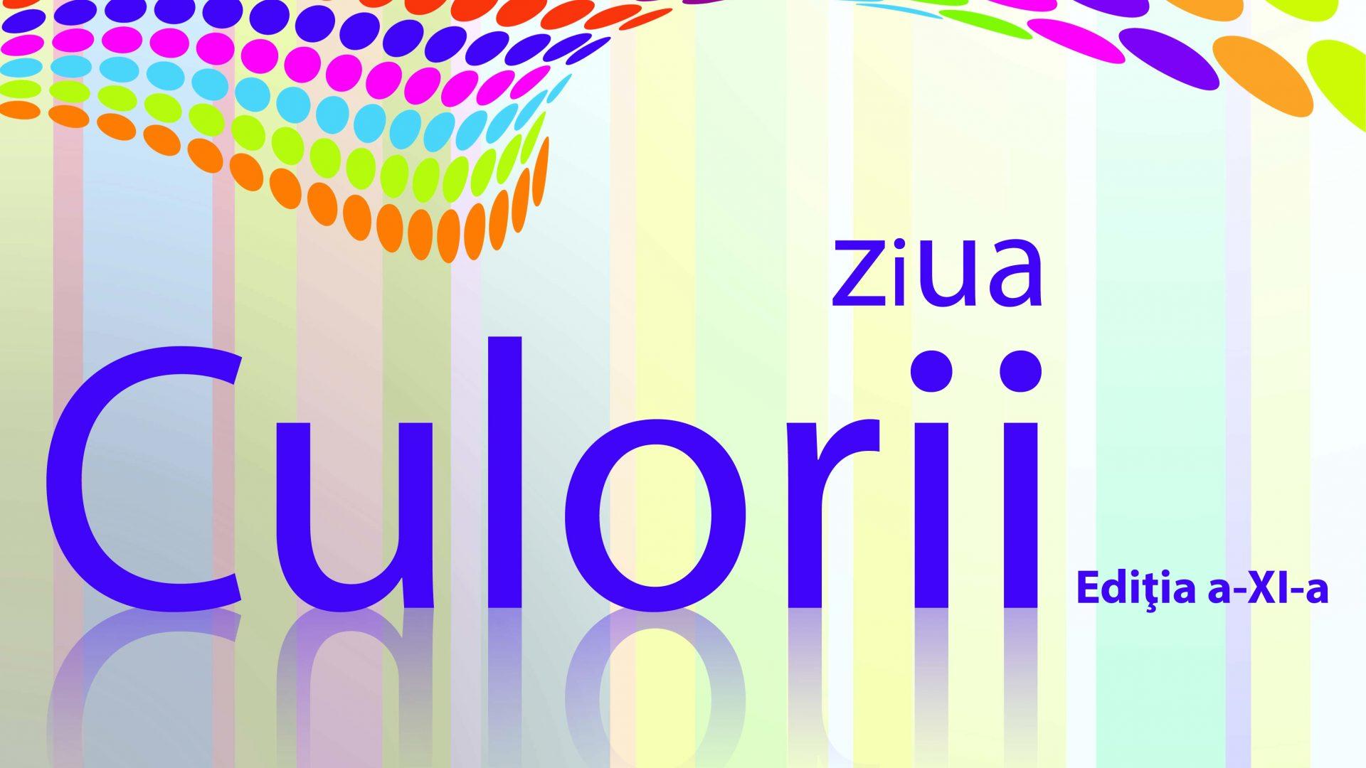 afis - ziua culorii 2018